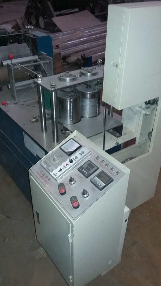 фото Установка для производства салфеток, Китай
