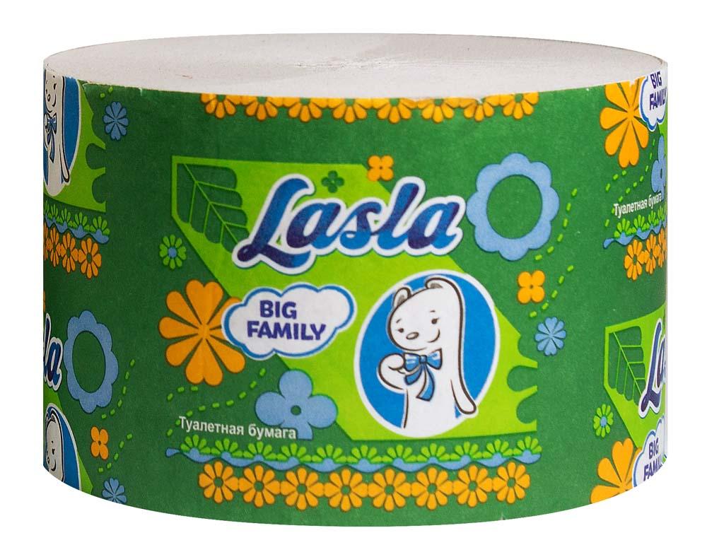 туалетная бумага без втулки купить LASLA BIG FAMILY