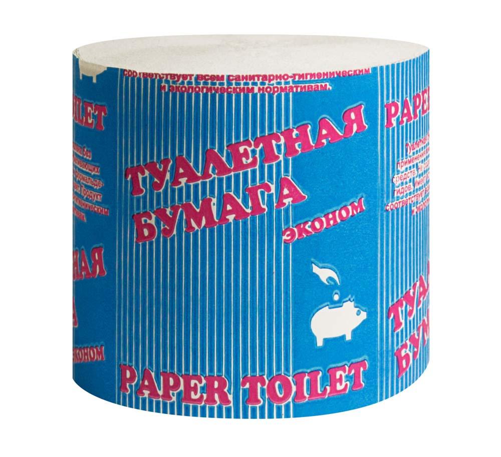 туалетная бумага без втулки Эконом