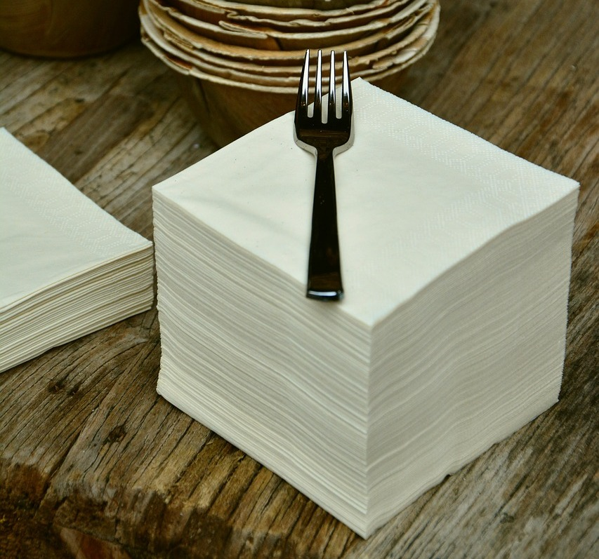 бумажные салфетки из вторсырья